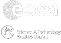 esa logo and stfc logo